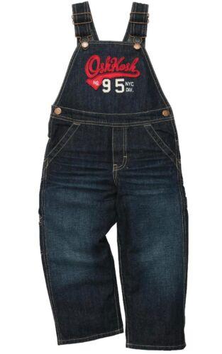 74//80 NEU Oshkosh Latzhose Jeans Blau Gr Jeansblau Overall Hose Logo
