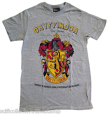 Official Harry Potter Gryffindor Adult's T-Shirt - Wear your colours with pride!
