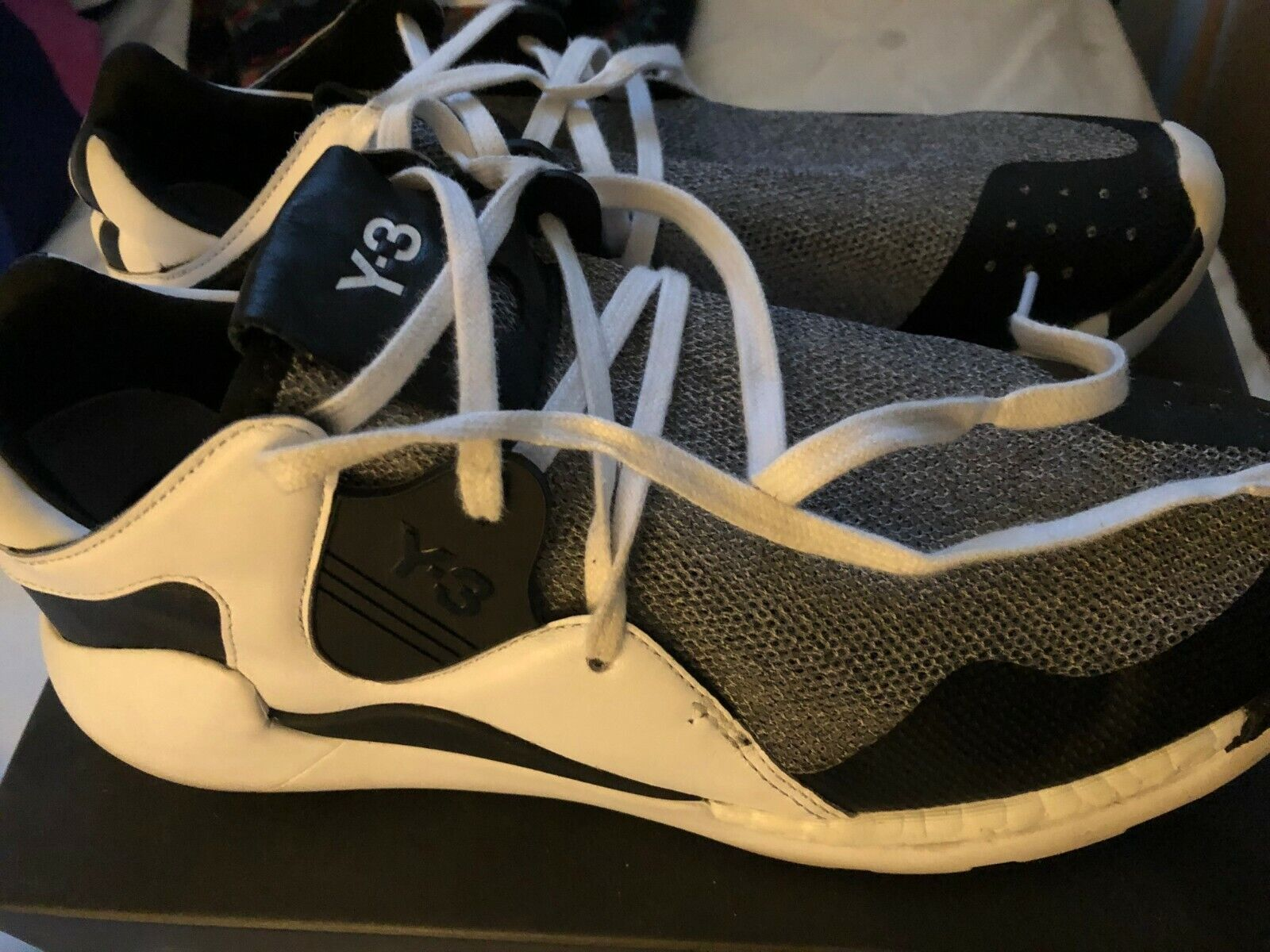 Men's Adidas Y-3 Yohji Yamamoto QR Run Boost AQ5496 Limited Edition Size US 9