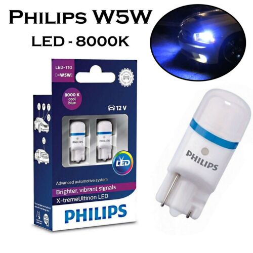 2x Philips W5W 12V 127998000KX2 X-treme Ultinon Kalt Blau Top Qualität Lampe