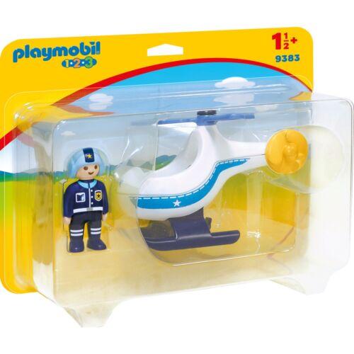 PLAYMOBIL Polizeihubschrauber, Konstruktionsspielzeug