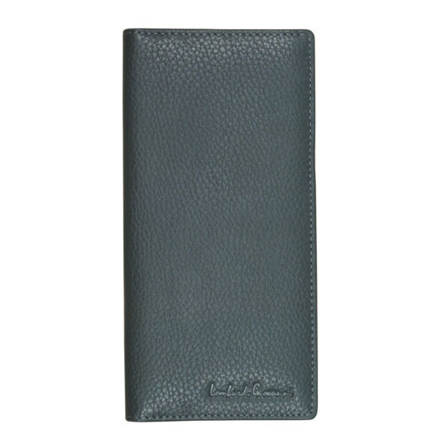 Lombardi Giovanni 3852 Men/'s Leather Long Wallet 12 Slots 1 Photo Id and Zipper