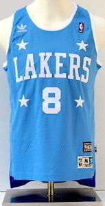 info for d5113 4e944 Details about Kobe Bryant LA Lakers Light Blue Soul Swingman #8 Throwback  Jersey - Small