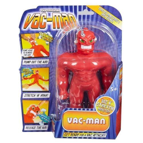 "THE ORIGINAL MINI VAC-MAN 7/"" STRETCH AMAZING STRETCHY TOY BRAND NEW UK SELLER"