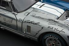 Exoto 1965 Cobra Daytona 50th Anniversary / Signatures / 1:18 / #RLG18016C