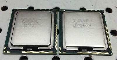 Matching pair(2)Intel Xeon E5645 Six Core 2.40GHz 12MB  LGA1366 CPU Processor
