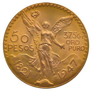 50 Pesos Gold Mexiko Verschiedene Jahrgänge Goldmünze 9001000