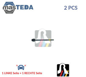 2x-RTS-VORNE-AXIALGELENK-SPURSTANGE-92-07025-P-NEU-OE-QUALITAT