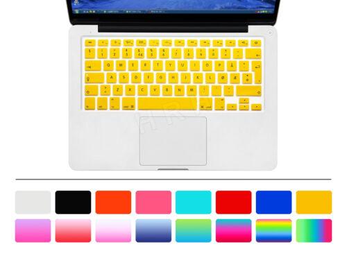Norwegian Silicone UK//EU Keyboard Cover skin For Macbook Pro Air Retian 13 15 17