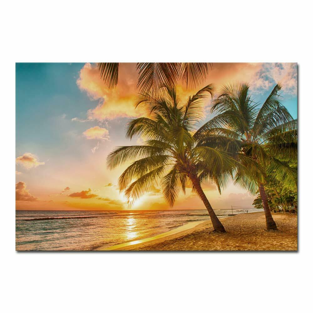 Canvas Wall Art Print Painting Picture Home Room Decor Sea Beach Landscape Photo 8