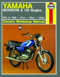 haynes workshop service repair manual yamaha rs 100 rxs100 rs 125 dx rh ebay ie honda rs 125 service manual pdf honda xrm 125 owners manual pdf