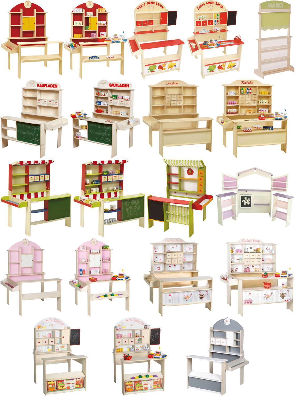 Roba Verkaufsstand Kaufladen Kaufmannsladen Marktstand Kiosk Holz