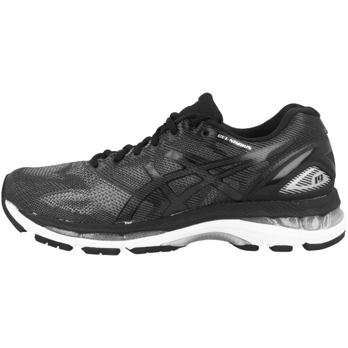Asics Gel-Nimbus 19 Damens Damen Laufschuhe schwarz schwarz schwarz onyx silver T750N-9099 Running e64f05
