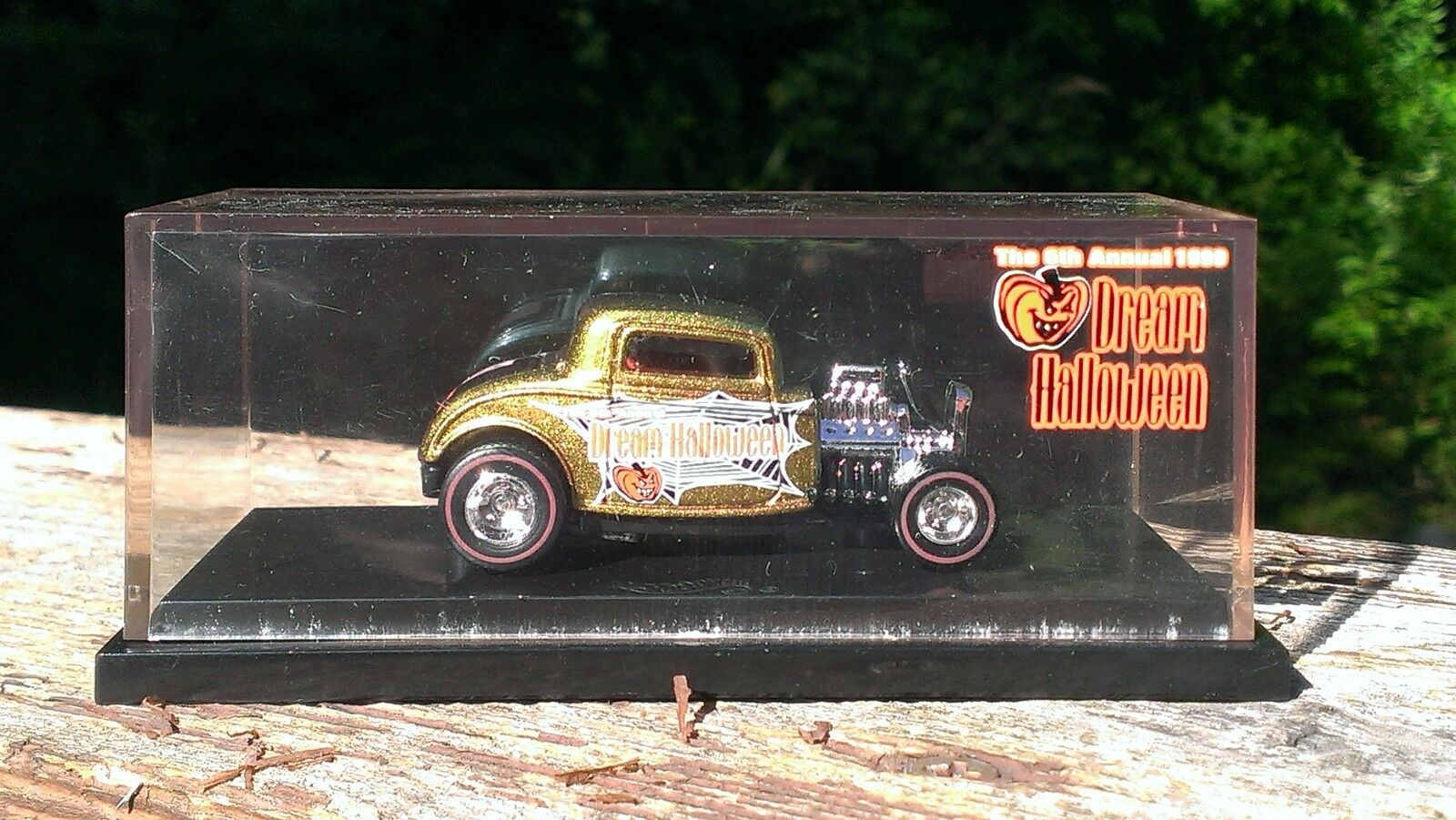 Hot wheels traum halloween 32er ford coupé.1. 2000.mint in mint - fall.
