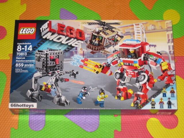 Lego El Lego película 70813 Rescate refuerzos Nuevo