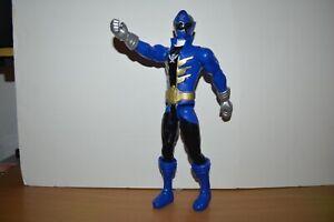 Power Rangers Super Megaforce Blue Ranger 12in. Action Figure Bandai 2014