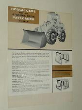 Prospectus Chargeur Payloader HOUGH CAB INTERNATIONAL IH Mac Cormick TP prospekt