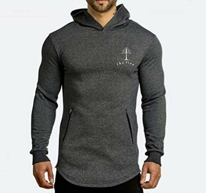 Mens  Hoddie Pullover Confortable Easily Becomes A Favorite Size M