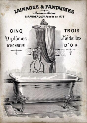 French-bad-3195 Perchas imagen-Vintage-SHABBY-nostalgia