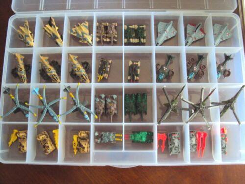 Vintage Kenner Mega Force Collection loose 1989 Lot of 36