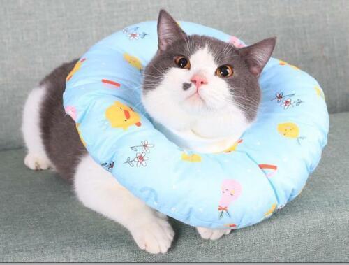Pet Dog Cat Protective Cover Collar Neck Soft Anti-Scratch Recovery Anti-Bit