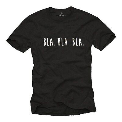 Lustiges Teenager Spruche Herren T Shirt Mit Bla Bla Bla Witziges