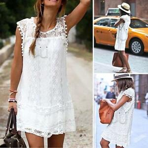 Women-Summer-Short-Mini-Dress-Casual-Sleeveless-Evening-Party-Beach-Sundress-New