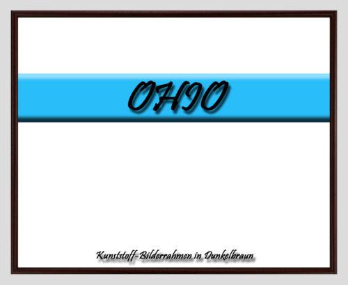 Posterrahmen mit Farbauswahl Kunststoff-Bilderrahmen OHIO 42 x 84 cm