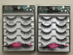 9d178e676a9 Image is loading 10-Pairs-ARDELL-DEMI-Wispies-Natural-Multipack-False-