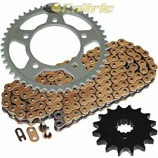 NEW X Ring Gold Chain and Sprocket Kit Aluminum Complete
