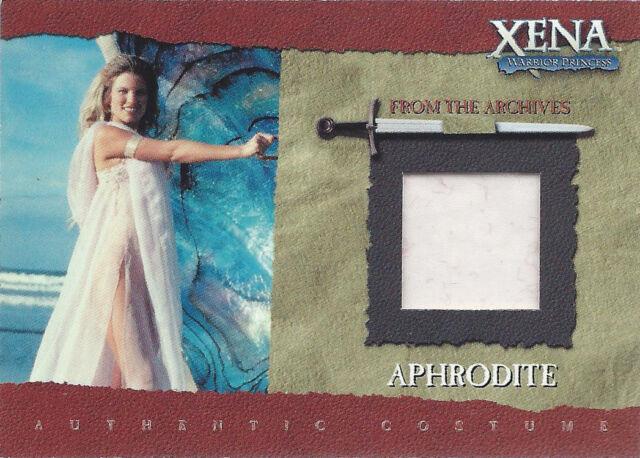 2001 Rittenhouse Archives Xena Season 6 Costume Card Relic R3 Aphrodite A