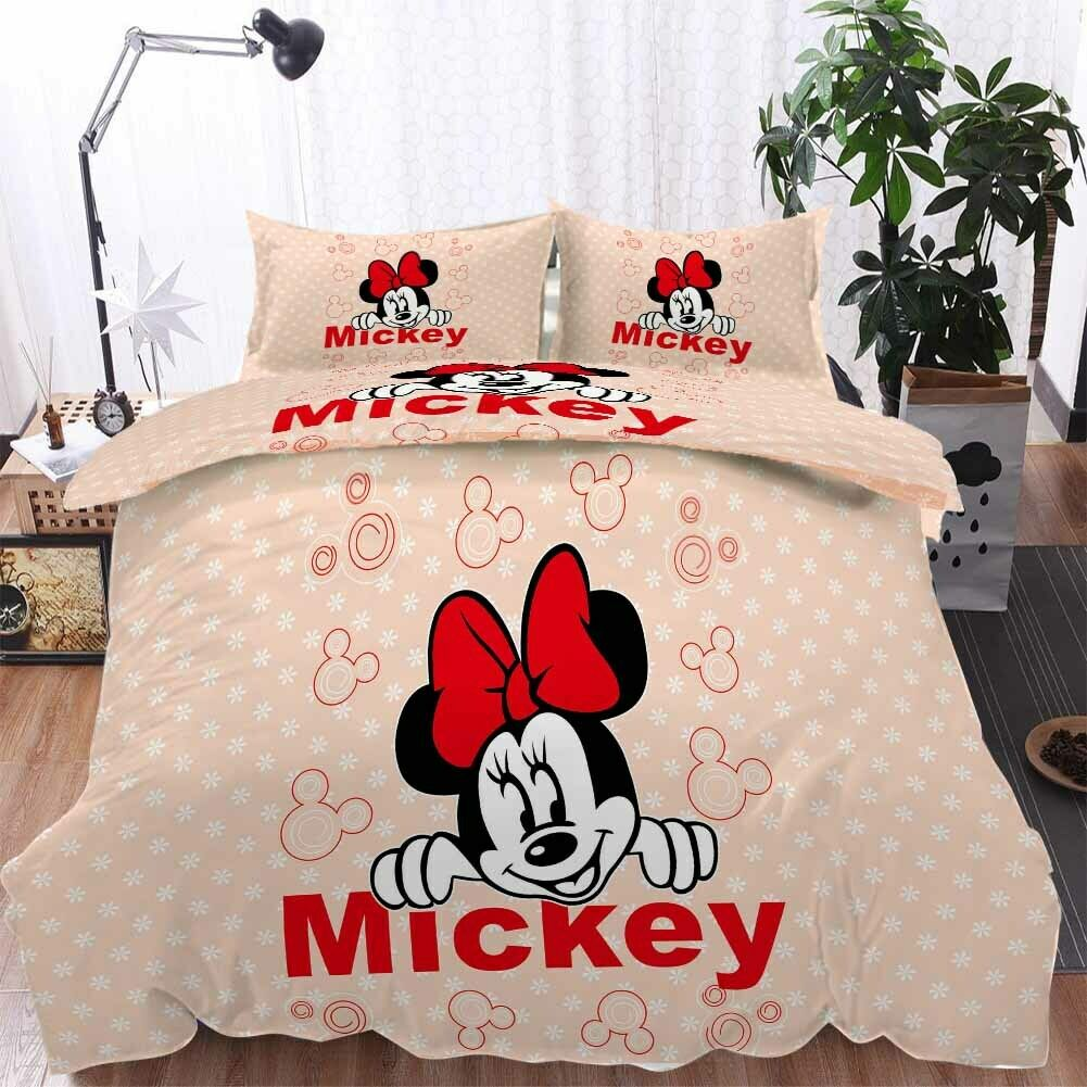 Happy rot Mouse 3D Printing Duvet Quilt Doona Covers Pillow Case Bedding Sets