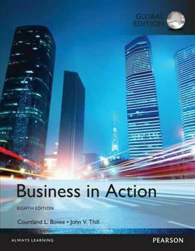 NEW Business in Action, Global Edition By Courtland L. Bovee Paperback