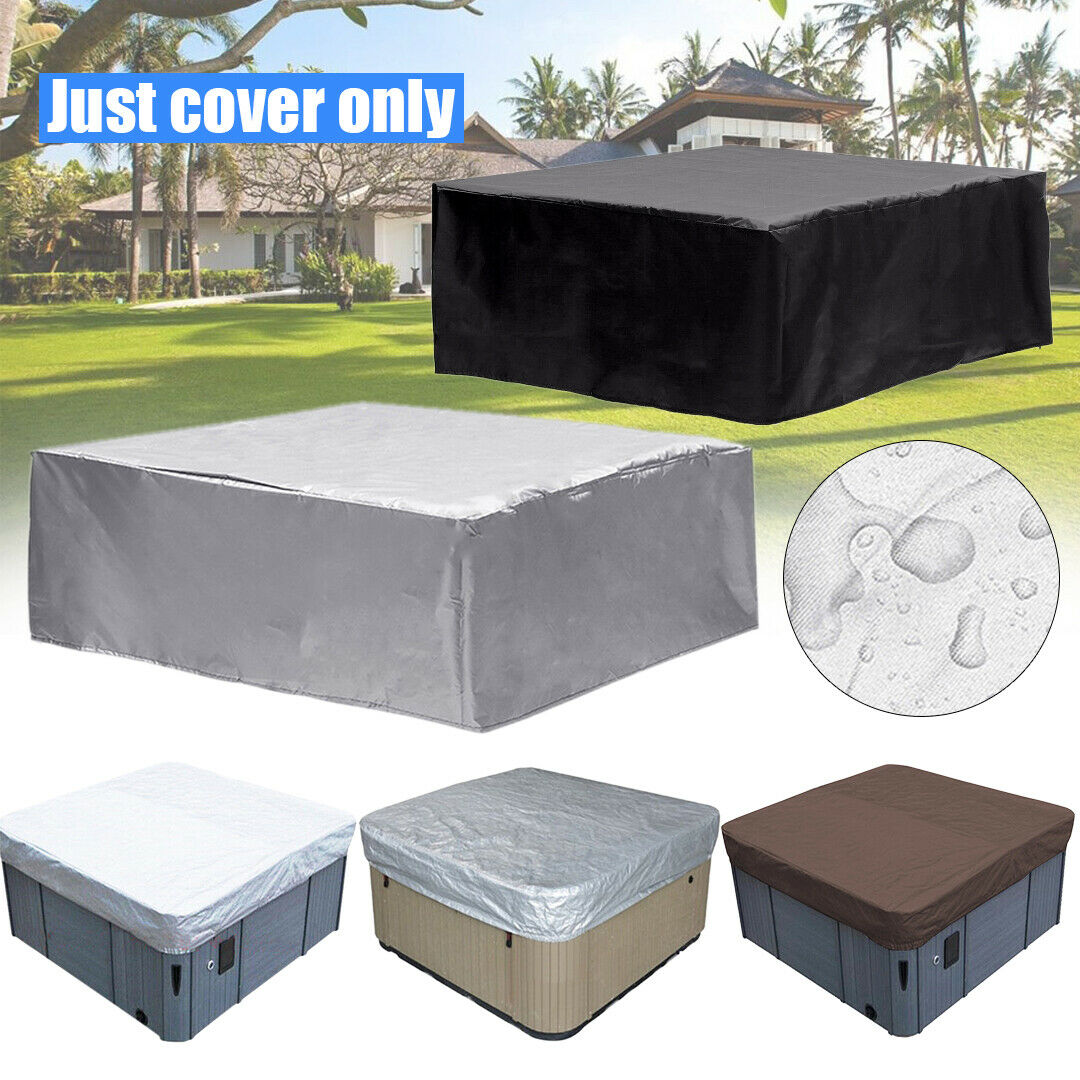14 Types Oxford fabric Hot Tub Spa Cover Waterproof Dust Protector Case Poratbel
