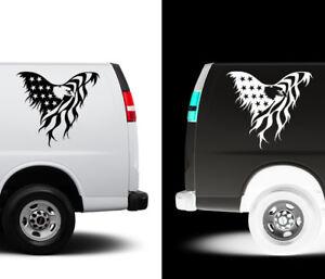 US-America-Bald-Eagle-Flag-Car-Truck-Suv-Wall-Art-Decor-Vinyl-Decal-Sticker
