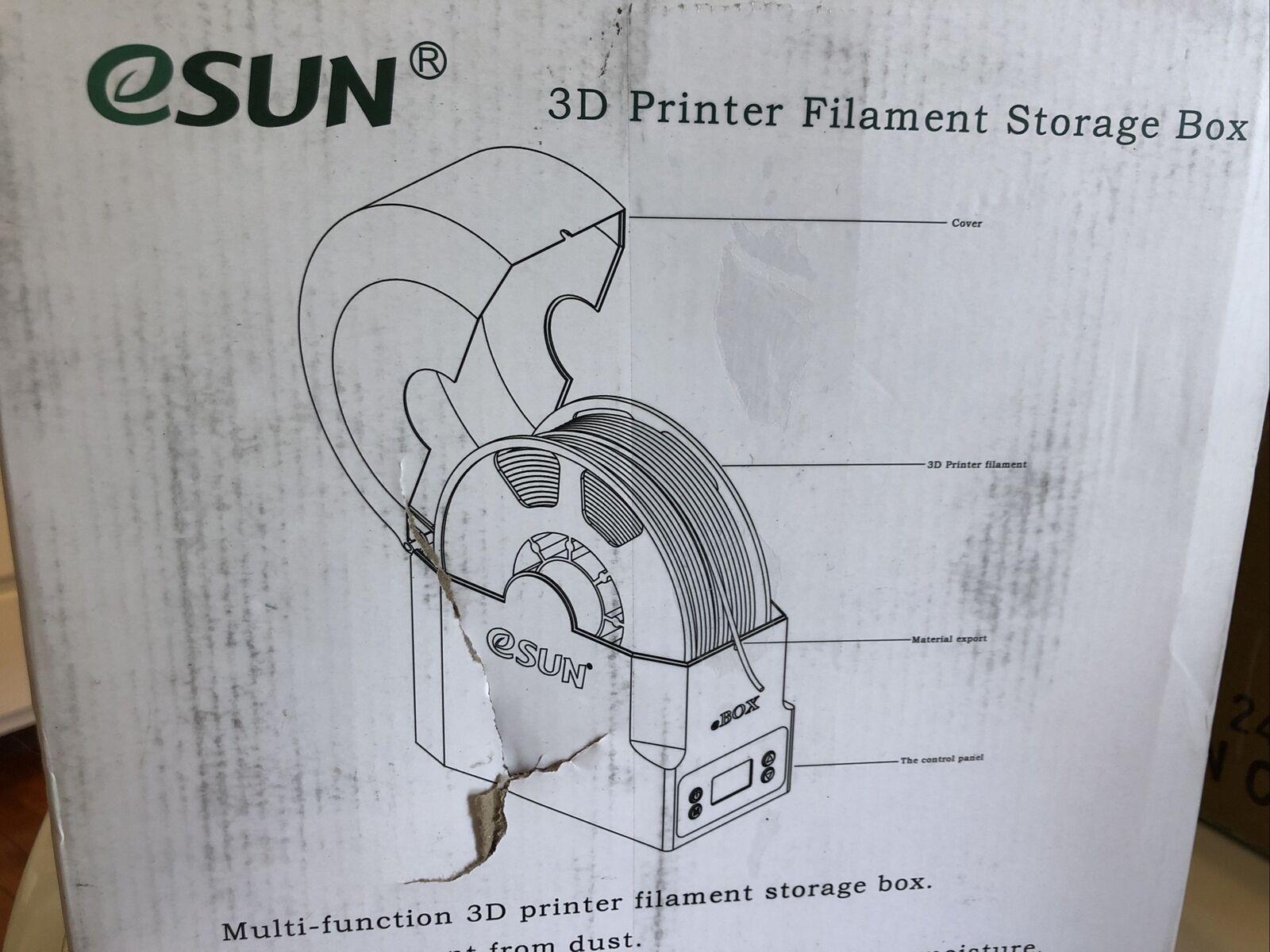 eSUN 3D Printing Filament Box Storage Holder 3D Printer Filament Mate eBOX P7F2