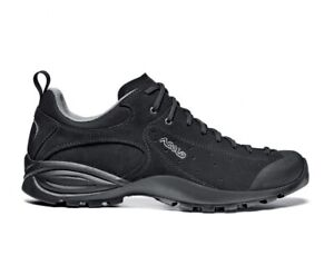 10913dc3260 Details about Asolo Womens Sz Shiver GV ML Low Hiking Trail Support Shoes  Black Sz US 6