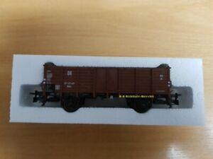 Trix-21532-3-H0-offener-Gueterwagen-Omu-der-DR-aus-Startset-21532-Neu