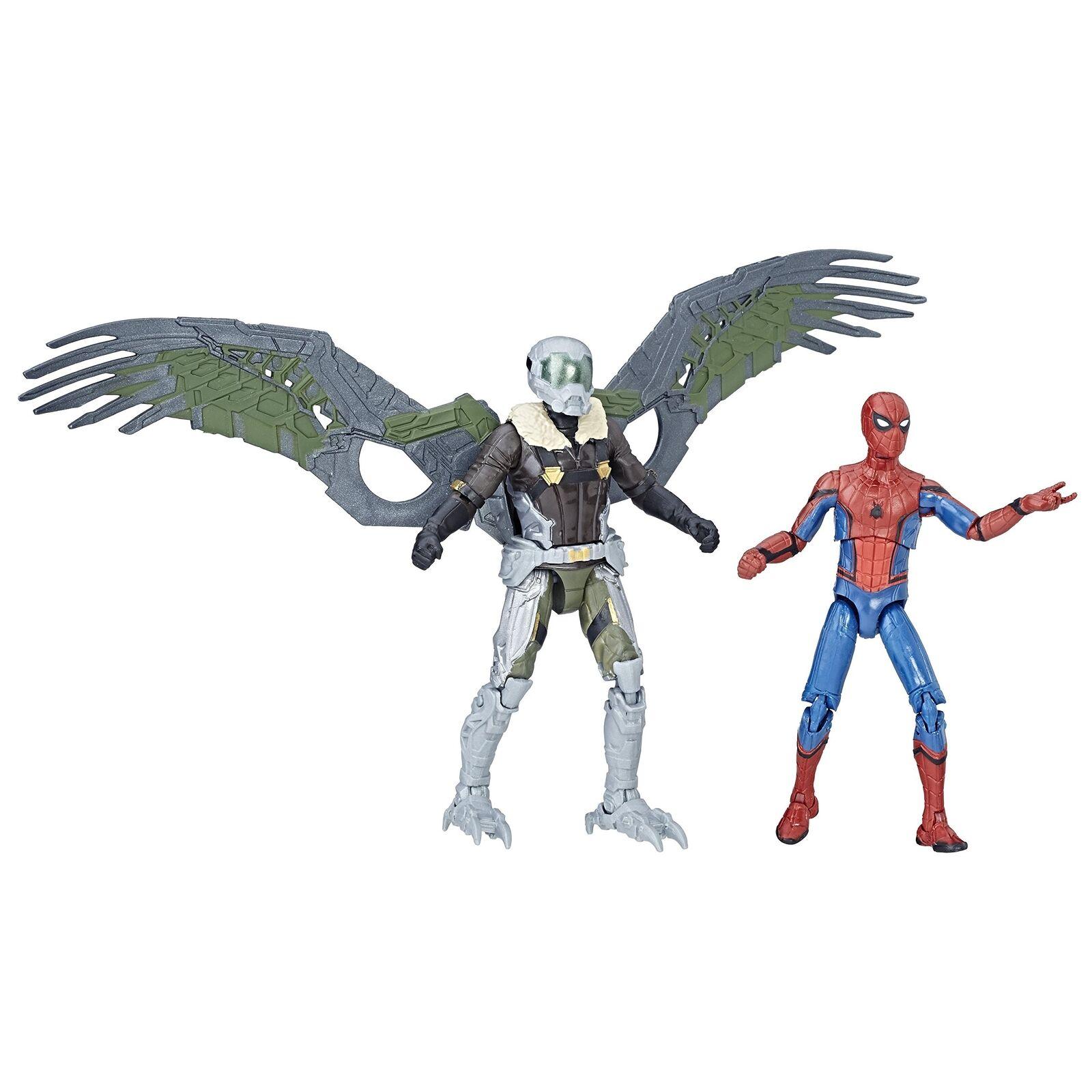 SPIDER-MAN C1407EL20 Marvel leggende e Vulture figura, Confezione da 2