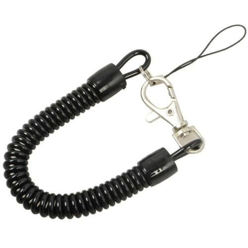 5X Tactical keychain Spring Elastic Rope Security Anti-verlorene Schnalle 3