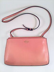 COACH NEW Blush Pink Crossbody Purse Pebble Leather Handbag IM PINK ... 7fce68ad5b55
