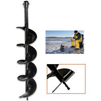 150mm Earth Auger Drill For Hole Digger Carbon Steel Replacement Hand Tools Usa