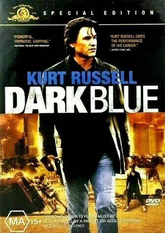 Dark Blue : Special Edition : NEW DVD : Old Aus Stock : *RARE OOP*  Kurt Russell