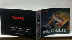 Megalit-Nintendo-Game-Boy-Instruction-Manual-Book-Only-DMG-MZ-USA