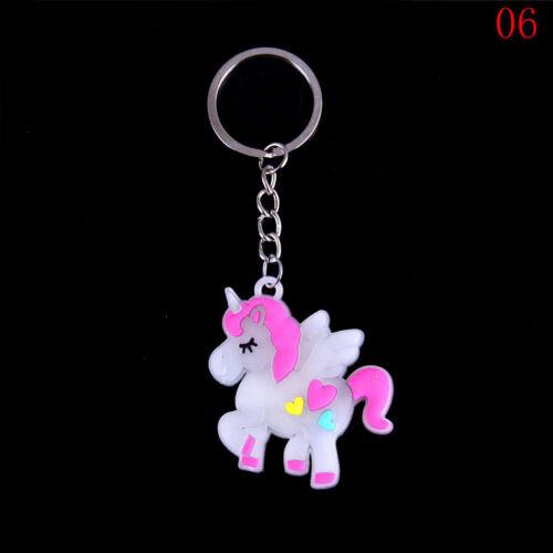 Licorne à thème cadeaux clips cheveux porte-clefs housses de coussin cheveux arcs