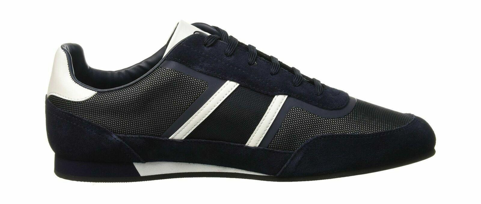 NEW Hugo Boss shoes Lighter_Lowp_Flash2 Sneakers Men bluee 50401838-401