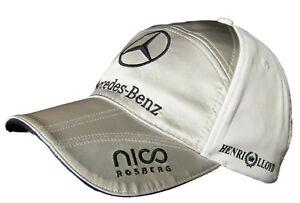 New-Henri-Lloyd-MERCEDES-GP-Petronas-ROSBERG-Baseball-Cap-Adjustable