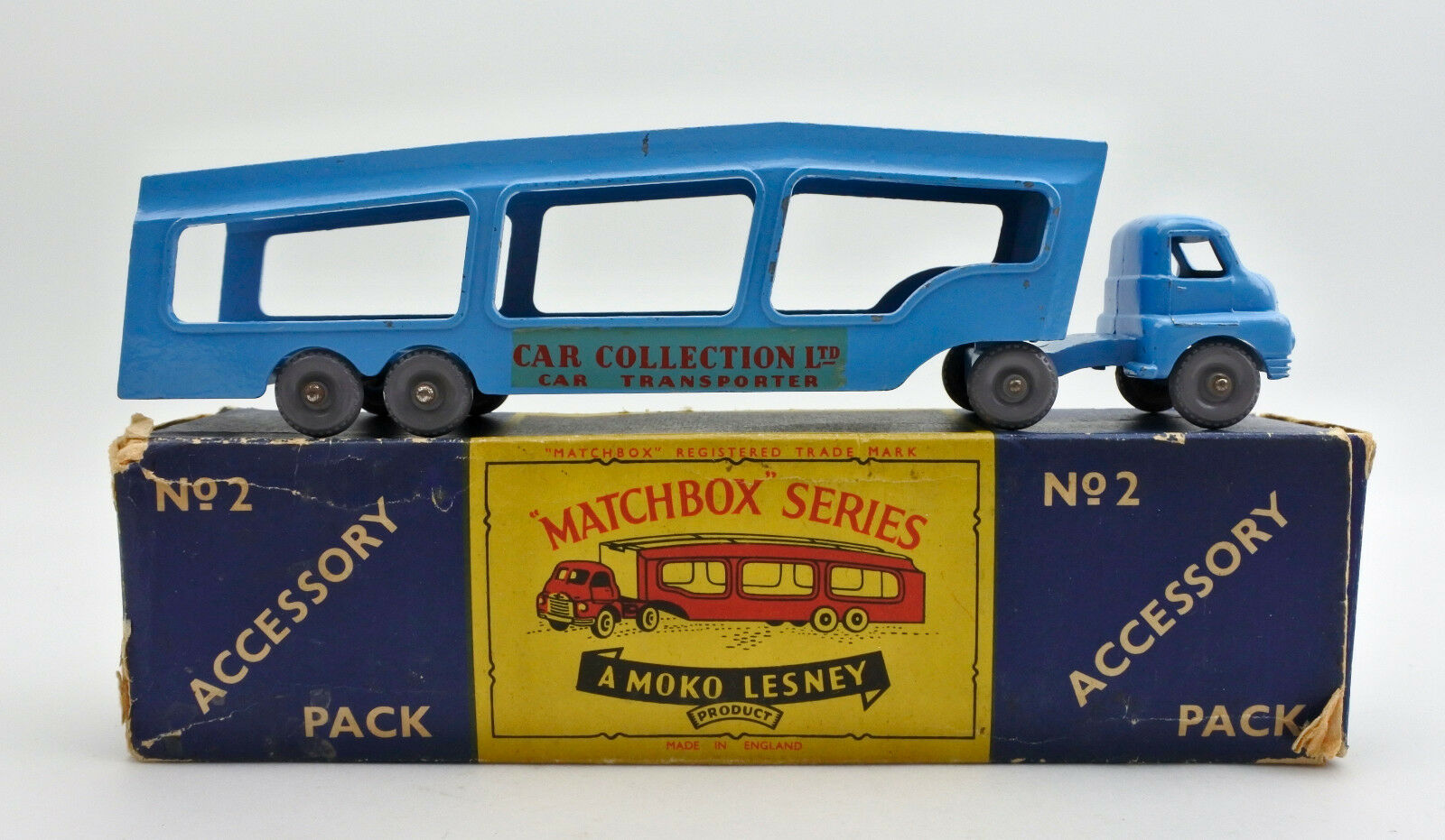MATCHBOX A2 DIECAST CAR TRANSPORTER (CAR COLLECTION LTD)