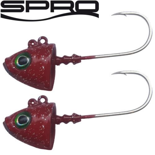 Spro Jighead Fish Head Jig 22-2 Jighaken Gamakatsu Bleiköpfe Jigköpfe