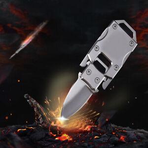 1x-Stainless-Steel-Outdoor-Mini-Folding-Knife-Pocket-EDC-Key-Chain-Survival-Tool